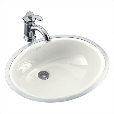 this type of sink requires a metal rim around the sink the frame is ...