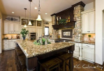 This Tuscan style kitchen will help raise the price on your home.