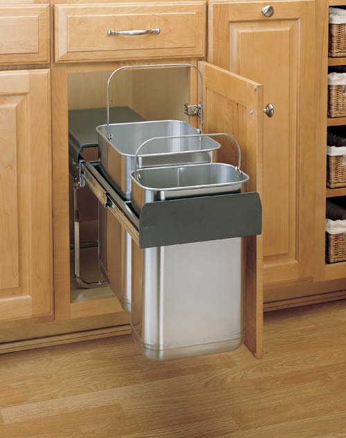 Image Result For Stainless Steel Kitchen Garbage Cans With Lids